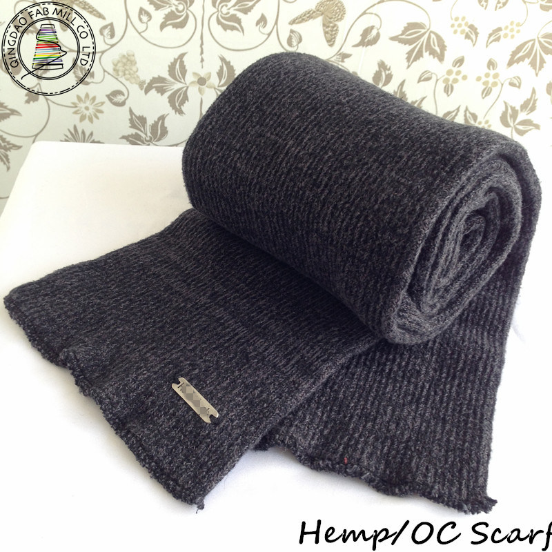 Women′s Fashion Knitted Scarf / Hether Knitted Scarf (HS-01)