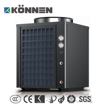 High Temperature Air Source Heat Pump with Large Power