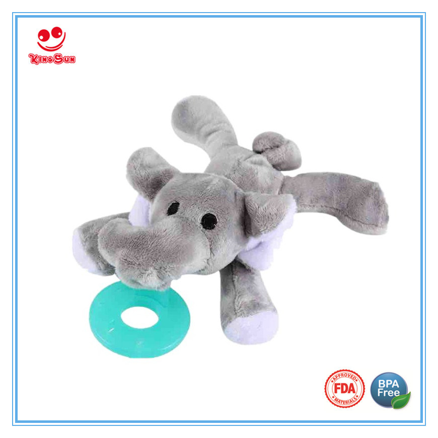 Plush Dummy Animal Pacifier for Newborn as Gift