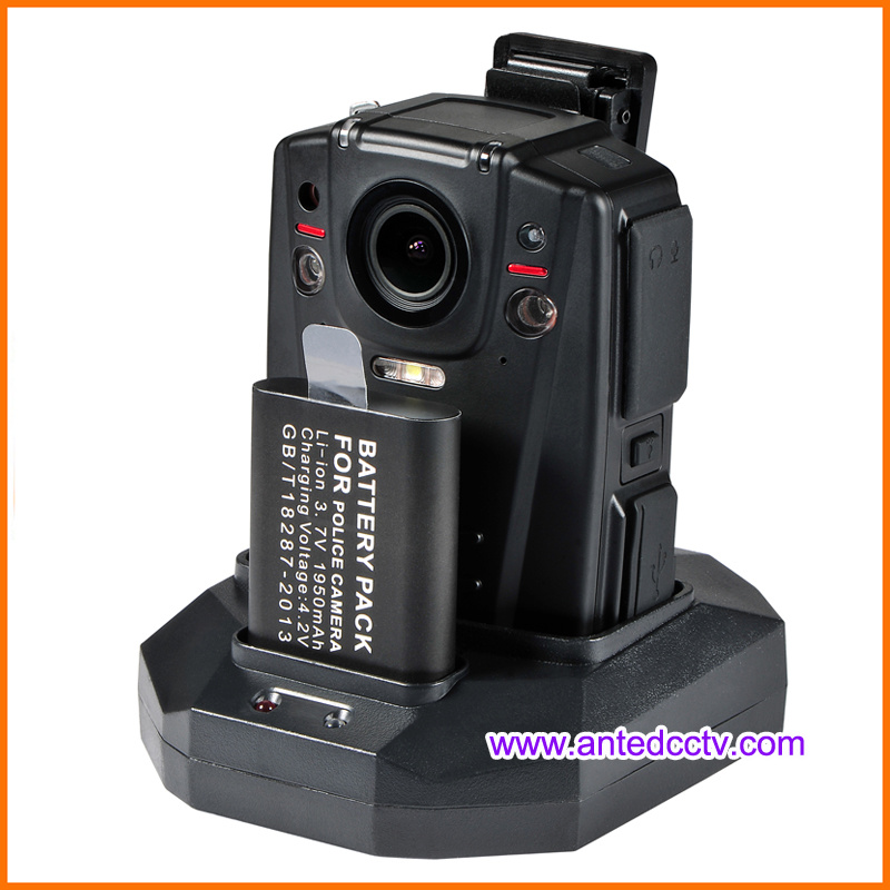HD 1080P Police Video Body Worn Camera Optional with 3G 4G GPS WiFi