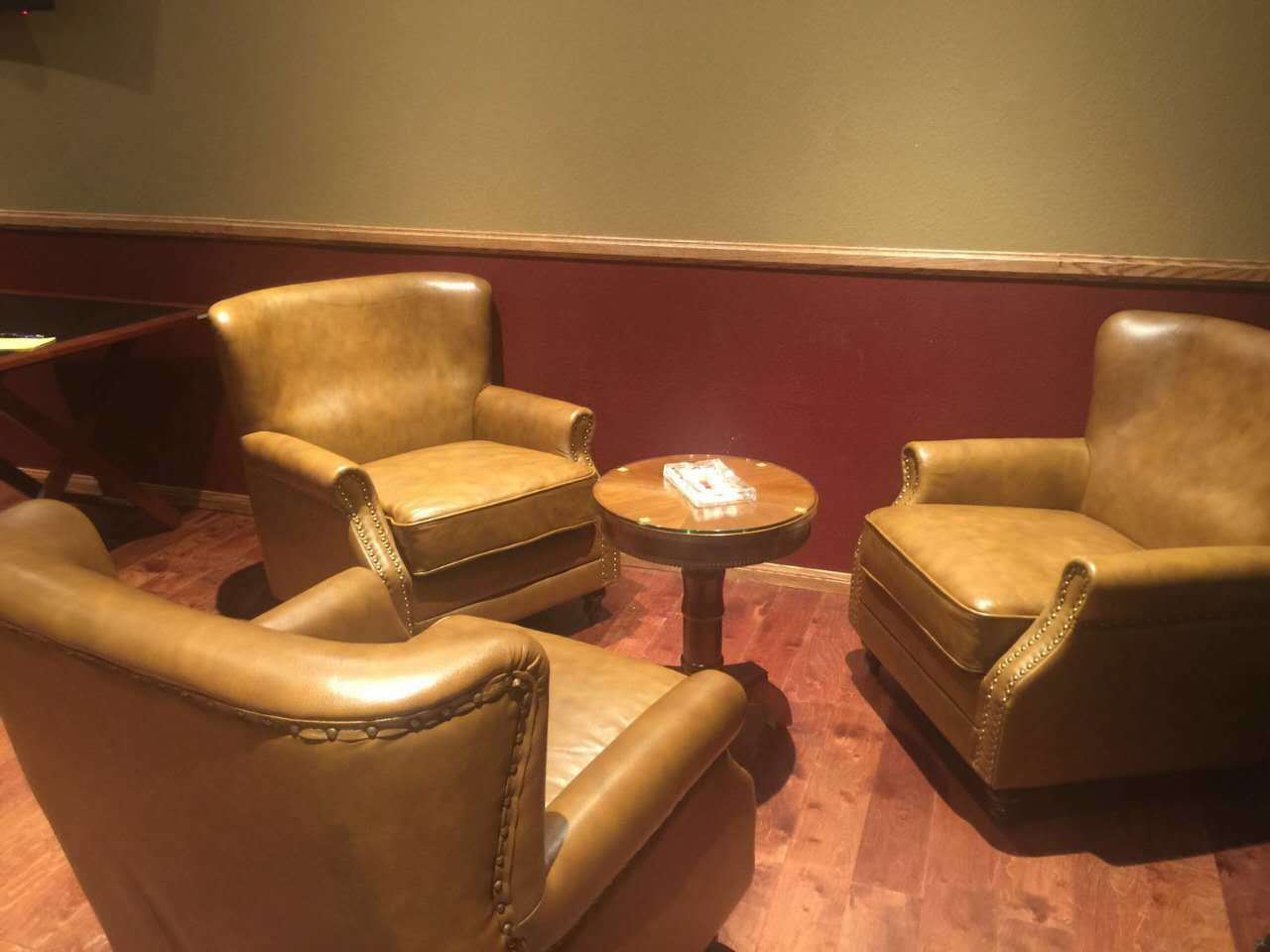 Best Quality Classical Hotel Leather Chair, Club Chair (625)