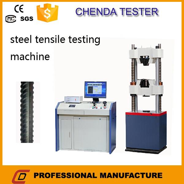600 Kn Hydraulic Universal Tensile Strength Testing Machine +Lab Equipment
