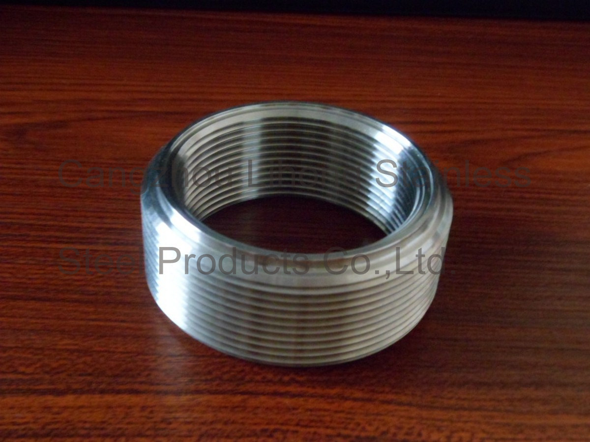 """1"""" Stainless Steel 316 DIN2999 Close Nipple From Pipe"""