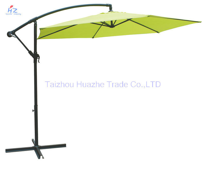 10ft Banana Umbrella Garden Umbrella Parasol Outdoor Umbrella