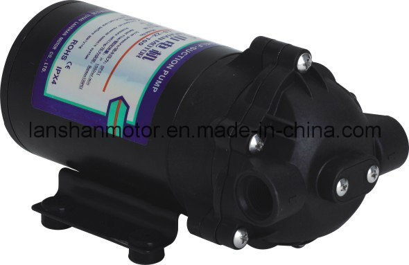 Lanshan 100gpd Diaphragm RO Self-Suction Pump 0 Inlet Pressure Water Pump