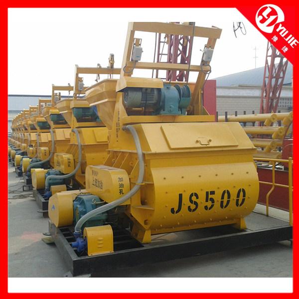 20-25m3/H Mini Concrete Mixer (js500)