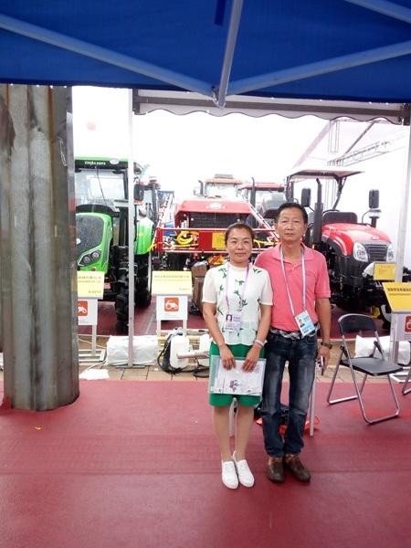 Aidi Brand 4WD Hst Diesel Engine Tractor Mist Sprayer for Amphibious