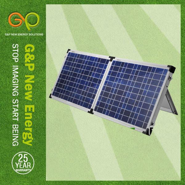 Poly Folding Solar Panel 100W (GPP100W-2F)