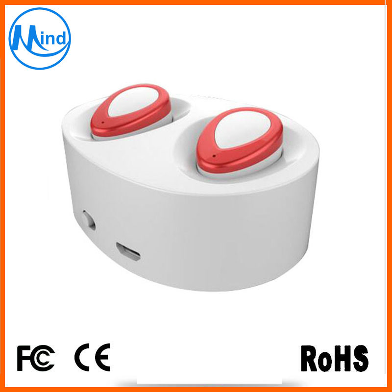Charging Box Bluetooth V4.1 True Wireless Earphone Earbuds for iPhone