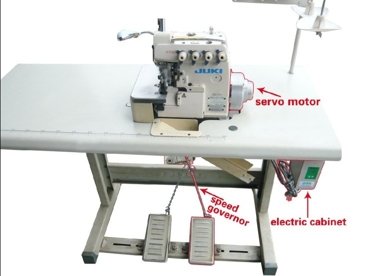 China servo motor for industry sewing machine china for Sewing machine motor manufacturers