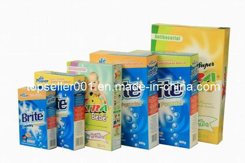 Paper Box Packing Detergent Powder