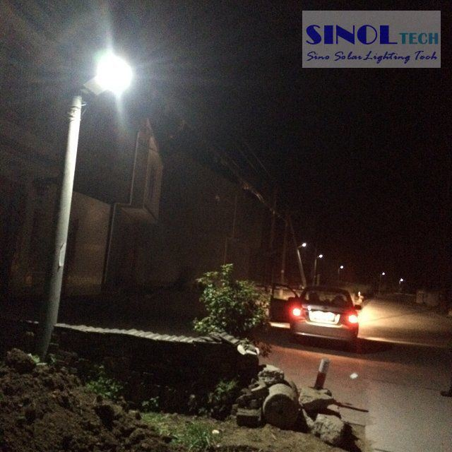 Integrated 8W Outdoor Lighting Powered by Solar (SNSTY-208)