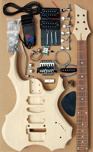 Electric Guitar Kit/Electric Guitar/Wooden Kits (GK-401)
