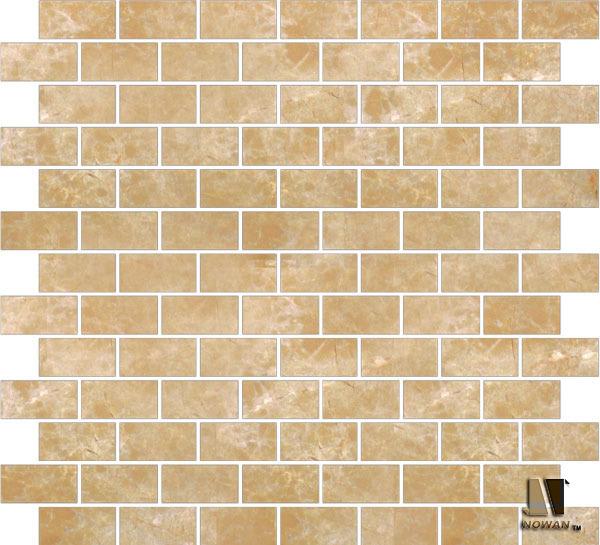 Brick pattern floor tile