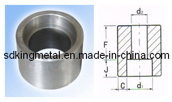 Stainless Steel 304 Od Machined Half Coupling