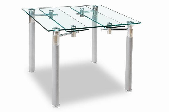 Glass Metal Dining Table KSD 063T China Dining Table Dining