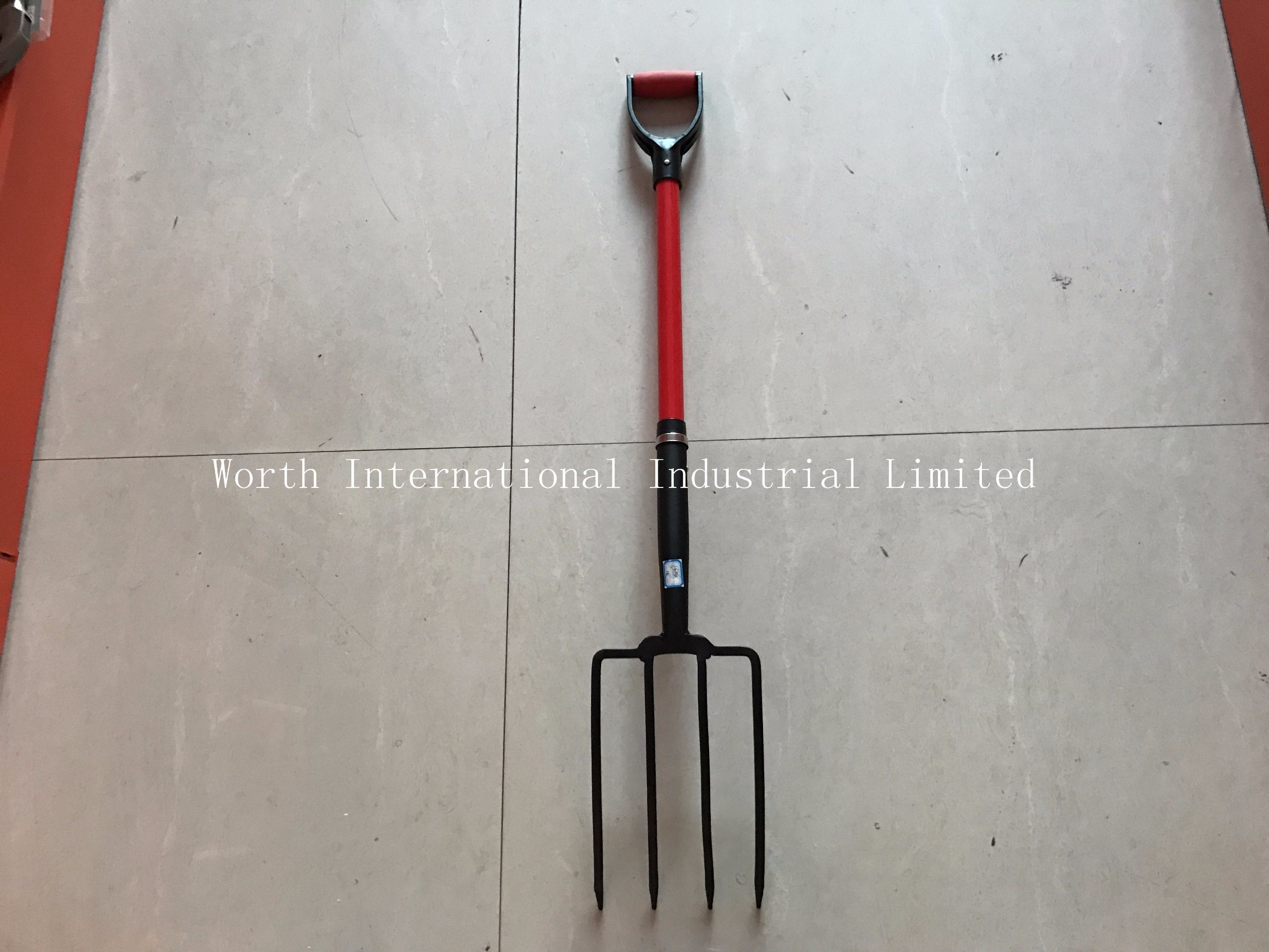 Fiberglass Handle Fork Plastic D Grip