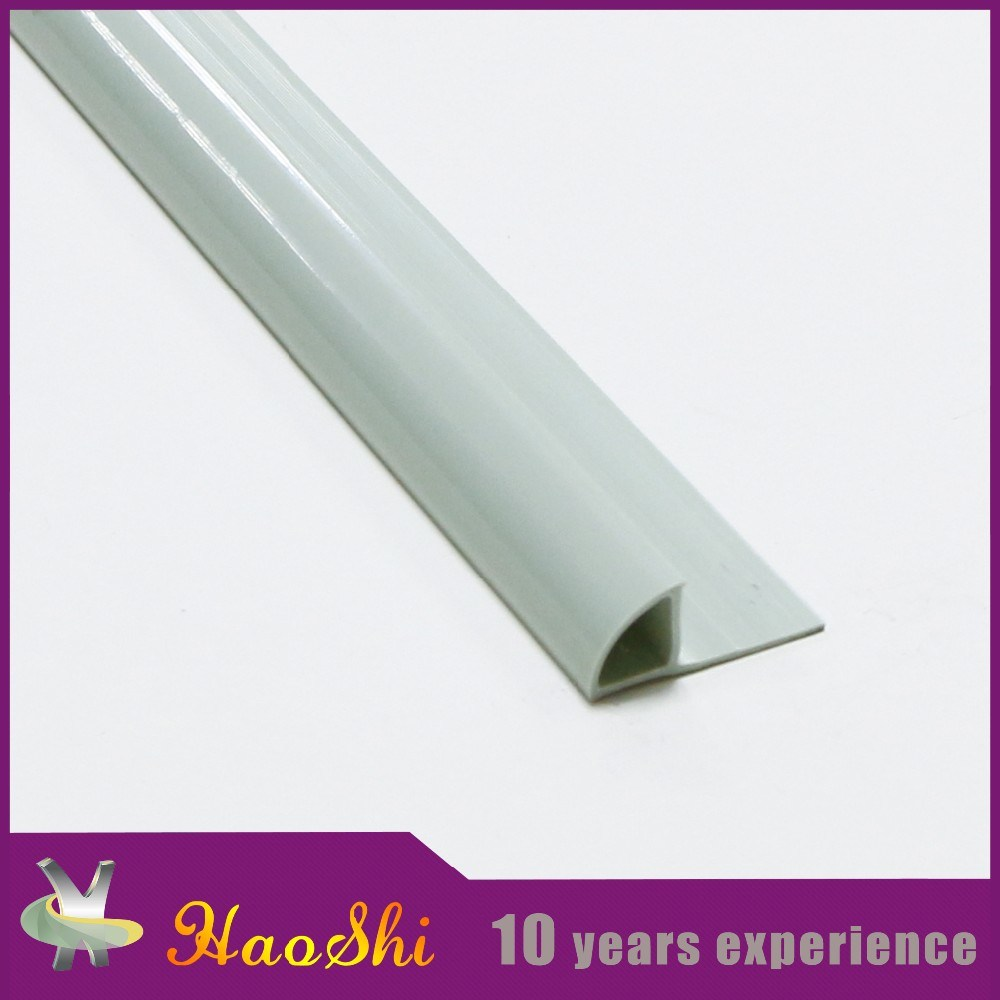 Foshan Reputable Plastic Supplier Flexible Ceramic Tile PVC Edge Trim