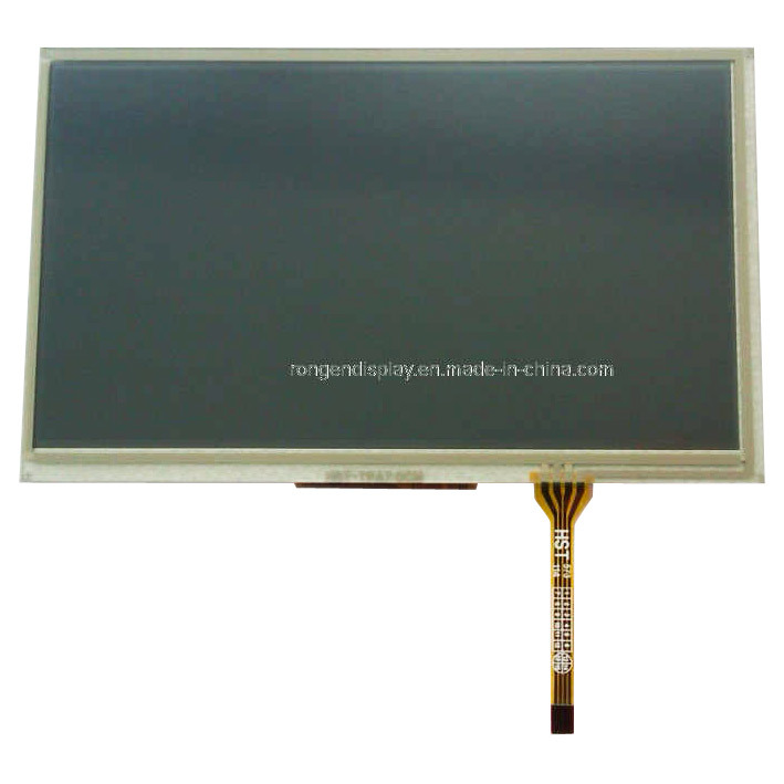 7 Inch TFT LCD Screen with Resistive Touch Screen Ce Certificate