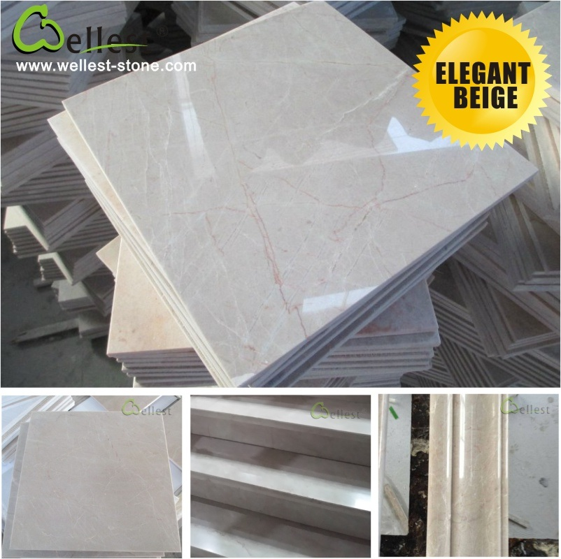 Natural Beige Marble for Interior Floor/Flooring/Wall
