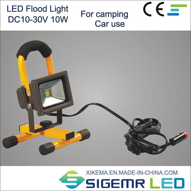 DC12V LED Floodlight for Car Camping Use