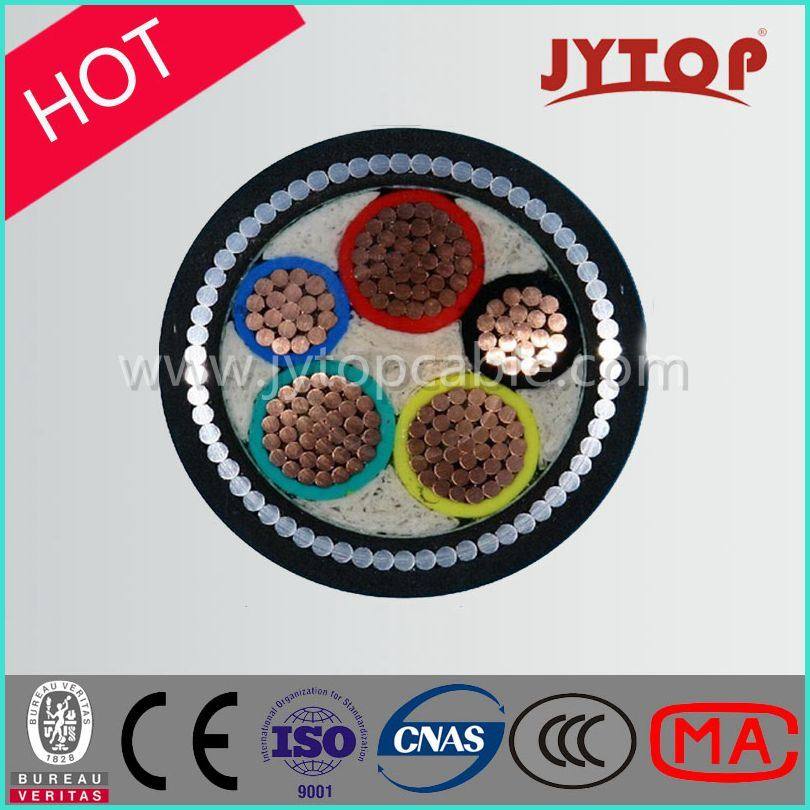 0.6/1kv 3+2 Core/Multicore Cable, XLPE Insulation Copper Cable