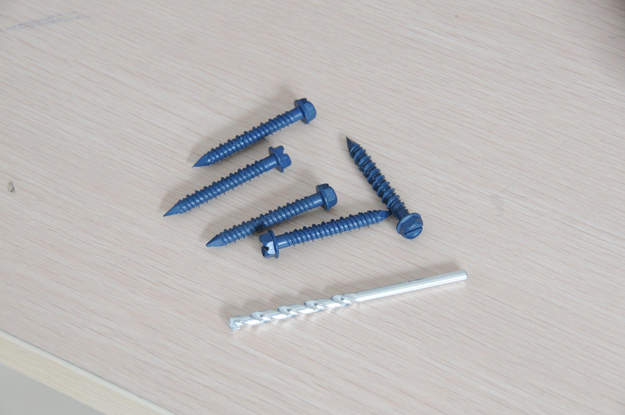 Hi-Low Thread Concrete Screw, Tapcon Screw