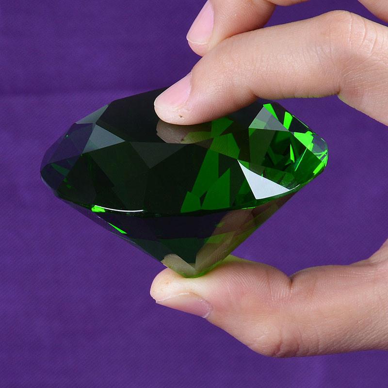60mm Crystal Diamond for Advertising Souvenir Can Engrave Logo