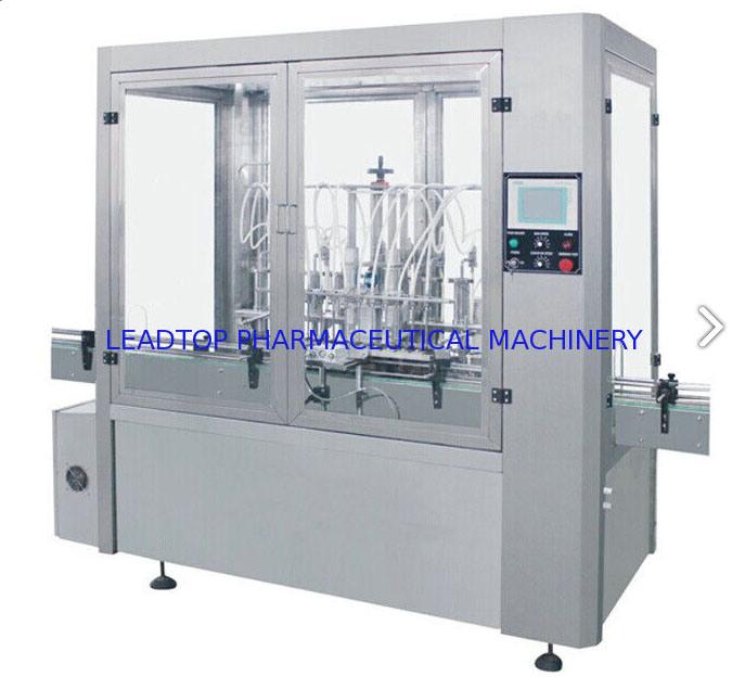 Liquid Glass Bottle Filling Machine Air Jet Bottle Washing Machine