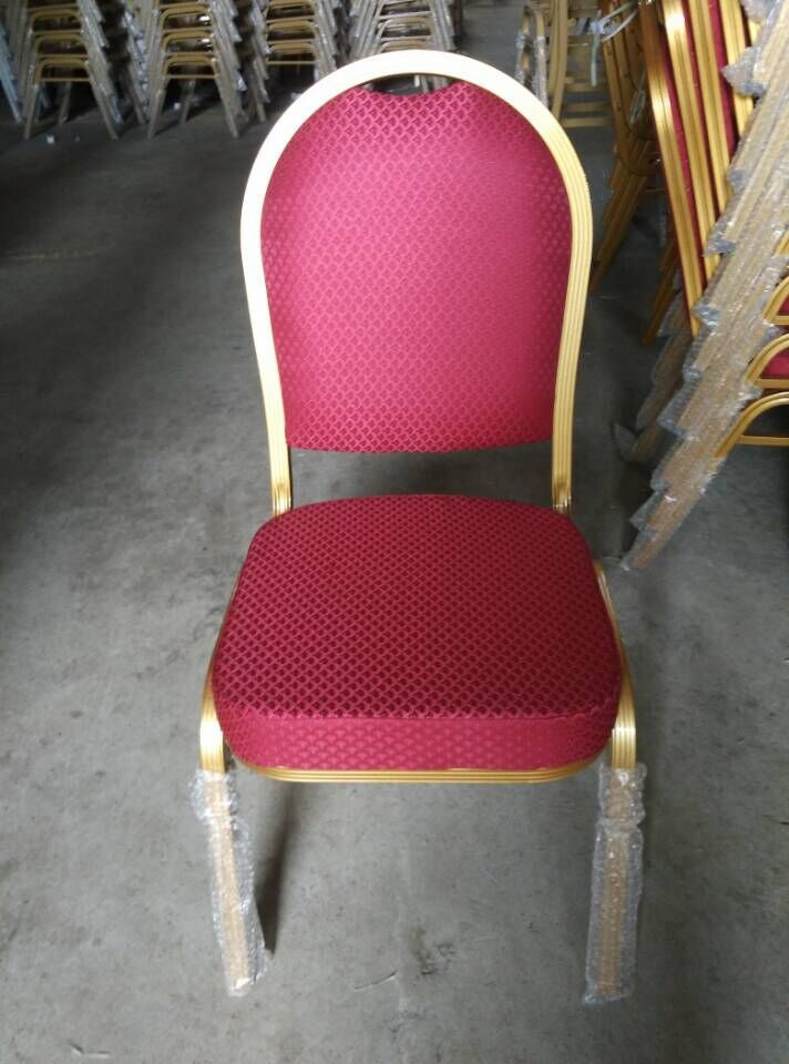 Foshan Wholesale Red Aluminium Hotel Banquet Chair (CY-8030)