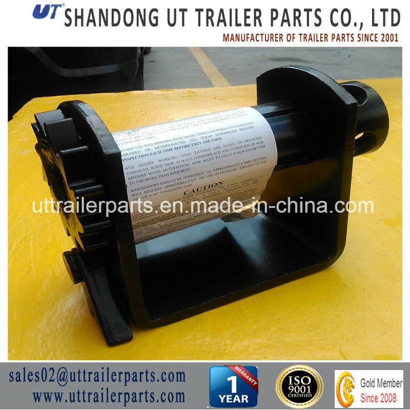 China Trailer Strap Winch/Twist Lock/Container Winch/Semi Trailer Winch