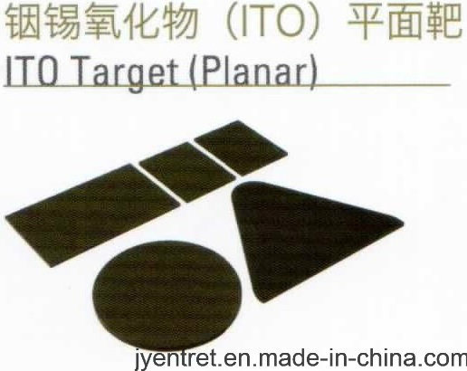 Indium Tin Oxide {ITO} Planar Sputtering Target