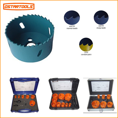 Aluminum Case 16 PCS Bi Metal Hole Saw Set