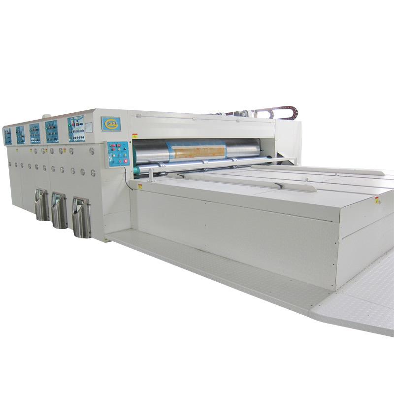 Economic Semi Auto Chain Feeder Flexo Printing Machine