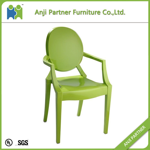 China Professional Wholesale Portable Polycarbonate 4 Legs Dining Chair (Melor)