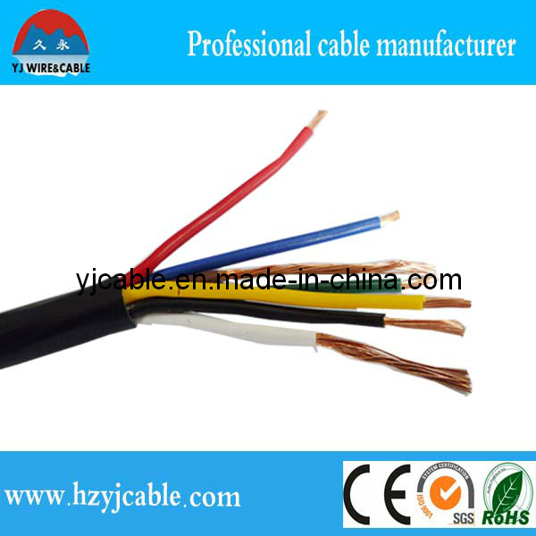 450/750V Muticore Flexible Control Cable, Braid Sheilded Control Cable Specification, System Control Cable