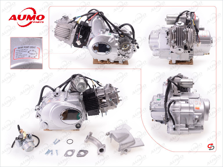 110cc Motorcycle Engine Assy for 152fmh C110 Motorcycle Parts