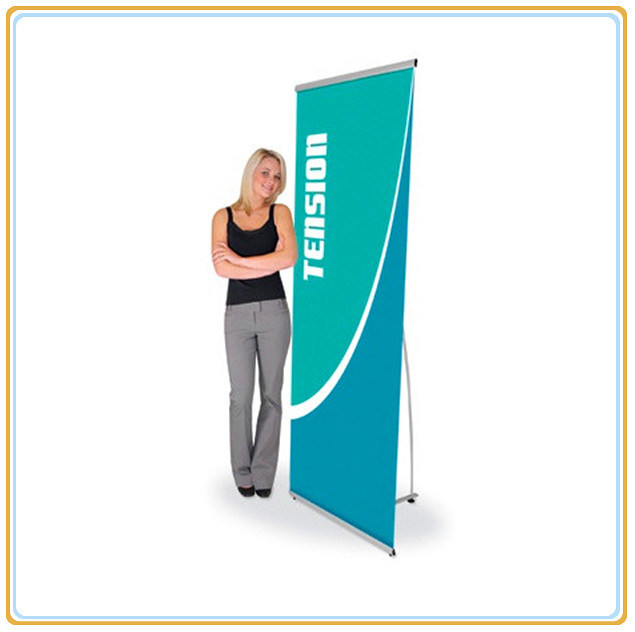 Aluminum L Roll up Banner Stand