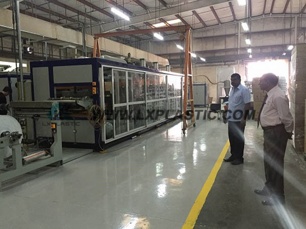 Factory Sell PP Lid Thermoforming Equipment