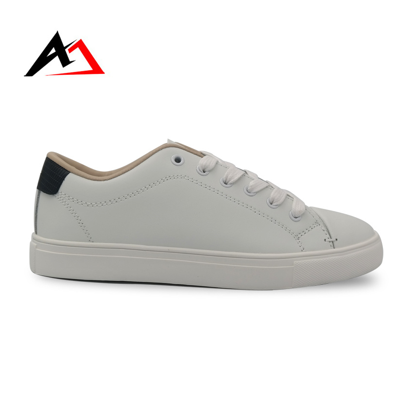 Leisure Shoes Sneaker Classic Leather Casual Low Cut Skate Shoes (AK2)