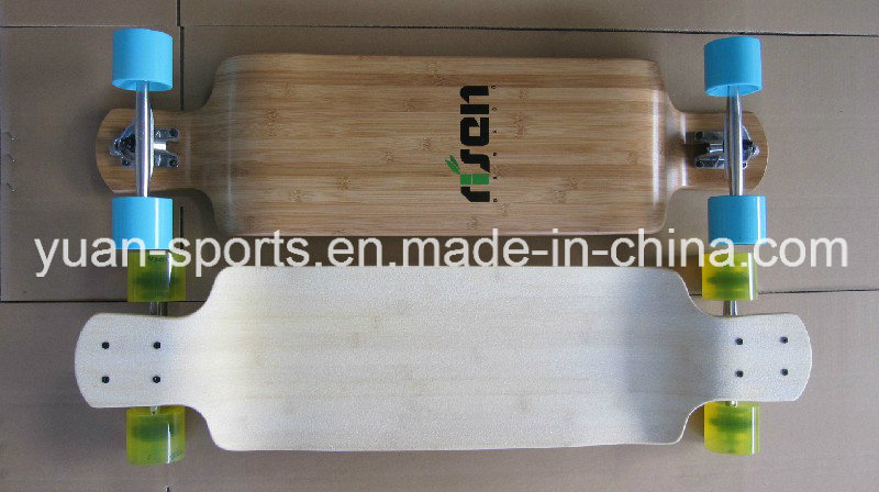 Durable 5 Layer Bamboo Deck Skateboard