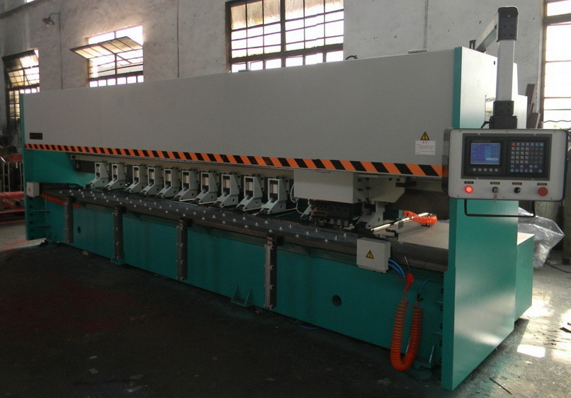 V Notching Machine for Metal Sheets