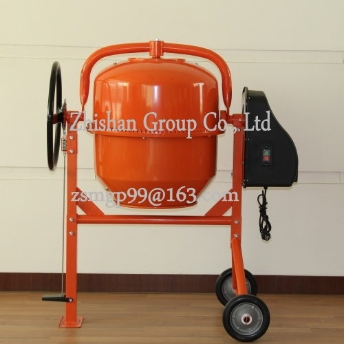 Cm260 (CM50-CM800) Zhishan Portable Electric Gasoline Diesel Concrete Mixer