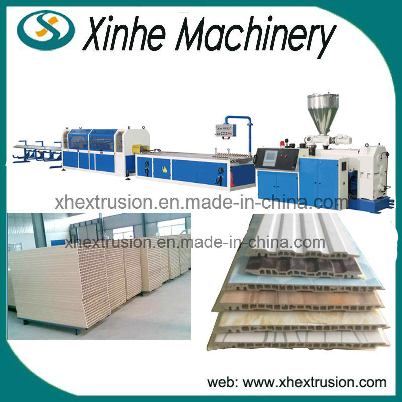 Large Capacity Plastic PVC Wood Profile Extrusion Making Machine Line
