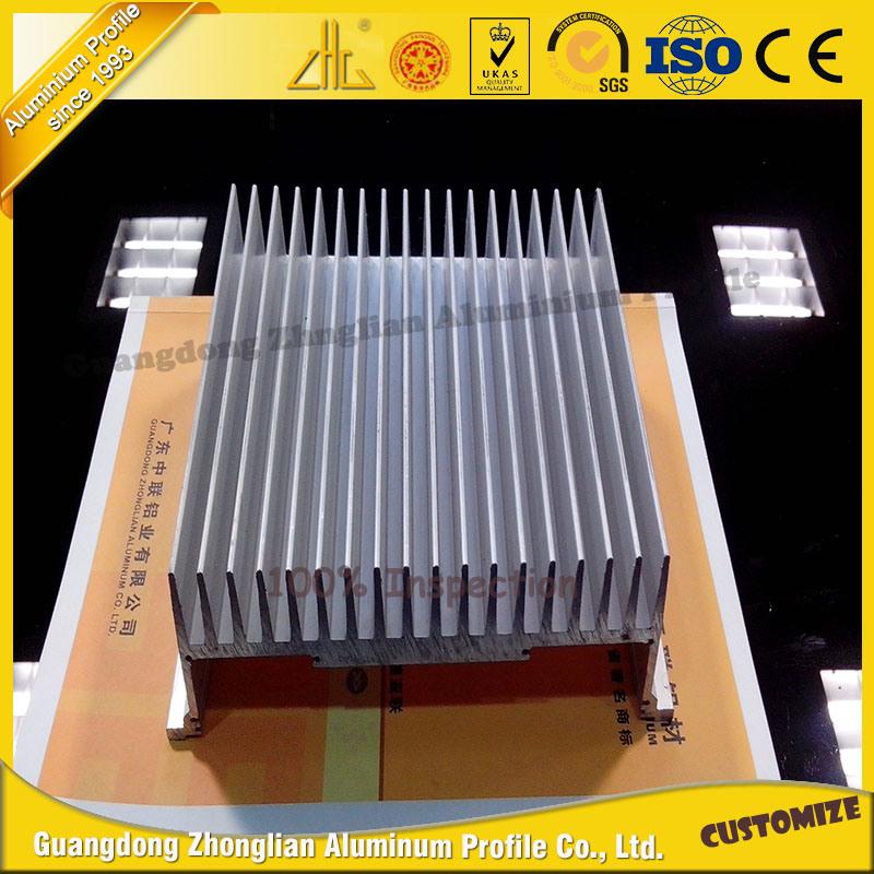 Hot Selling Anodized Aluminium Heat Sink for Aluminum Parts