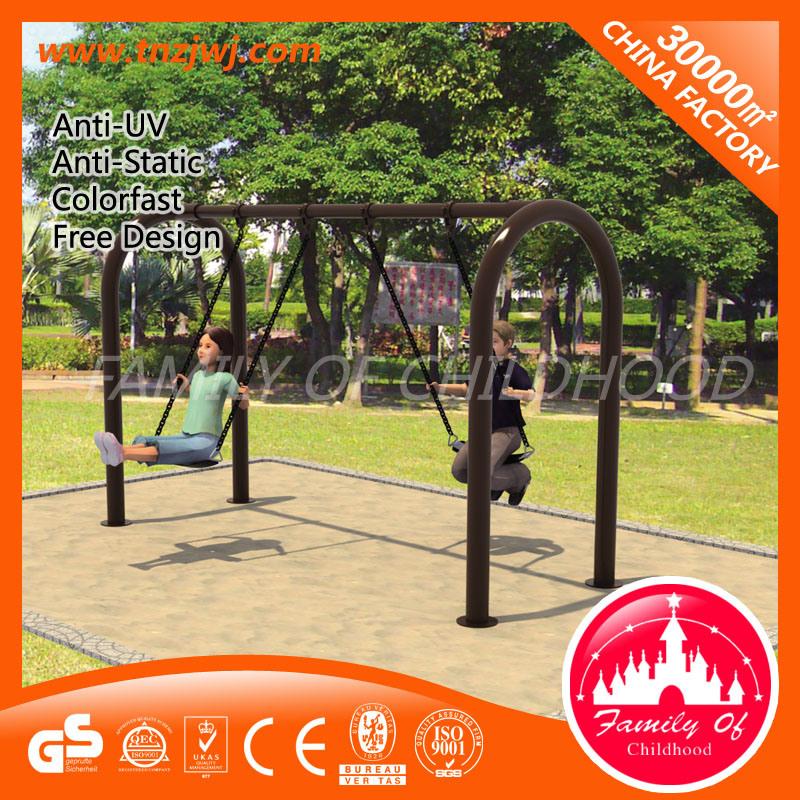 Kids Outdoor Garden Swing Metal Swing Sets with Slides