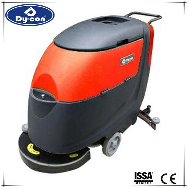 Hand Push Walk Behind Floor Scrubber with Battery