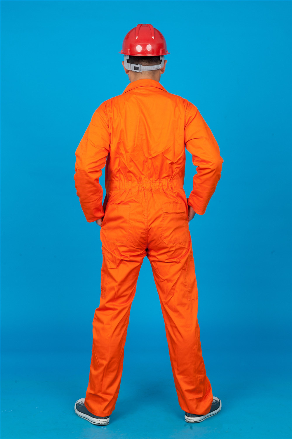 65% Polyester 35%Cotton Long Sleeve Safety High Quolity Cheap Coverall (BLY1022)