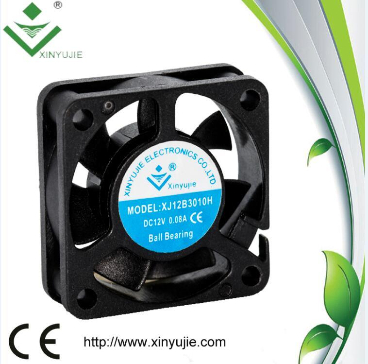 3D Printer DC Fan 30mm 30*30*10mm 24V High Air Flow Mini Fan