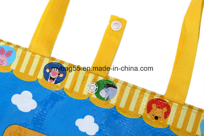 Custom Logo Printing Easy Shopping Supermarket Promotion Bag